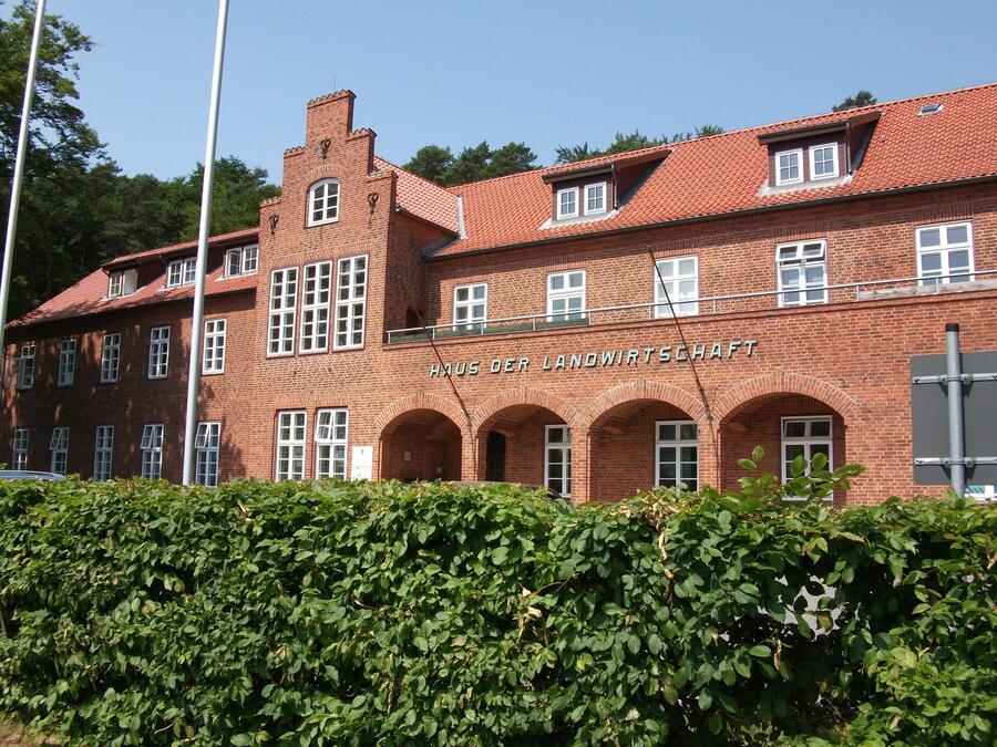 Haus der Landwirtschaft in Mölln - Sitz des Fachdienstes