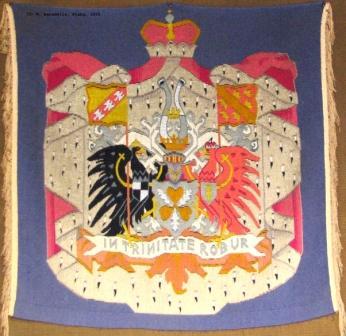 Wappen der Familie von Bismarck in der sog. Bismarckecke