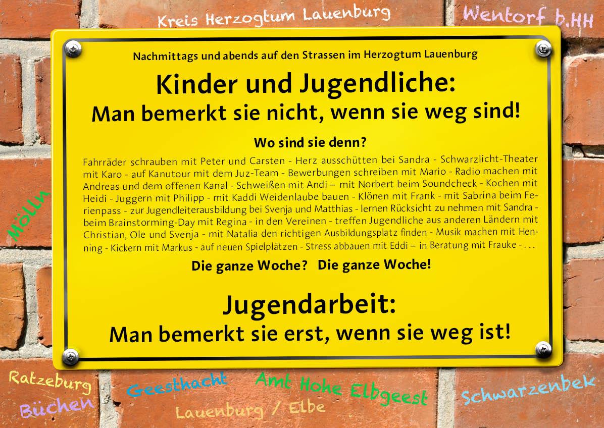 Plakat Jugendarbeit