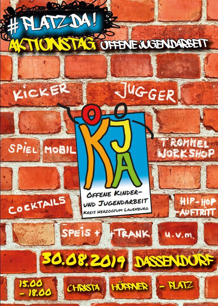 Plakat Aktionstag OKJA