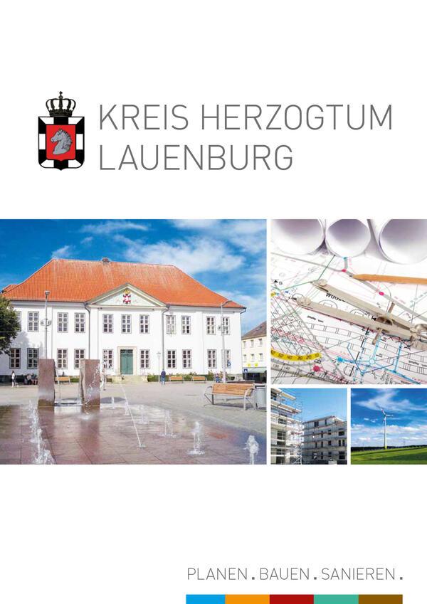 Titelseite der Baubroschüre 2017