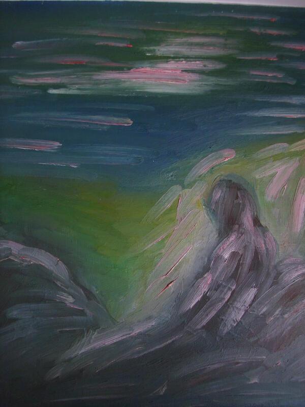 Ebba Sakel: Frau Am Meer
