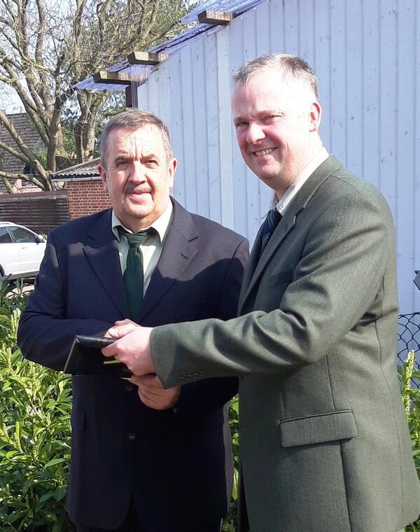 links Udo Ender, rechts Jan Stäcker